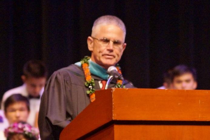 DMS Principal, Br. Daniel J. Casey