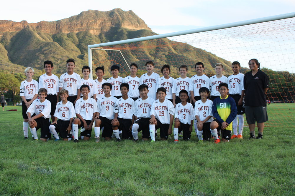 2016 Boy's Intermediate II Soccer ILH Champions