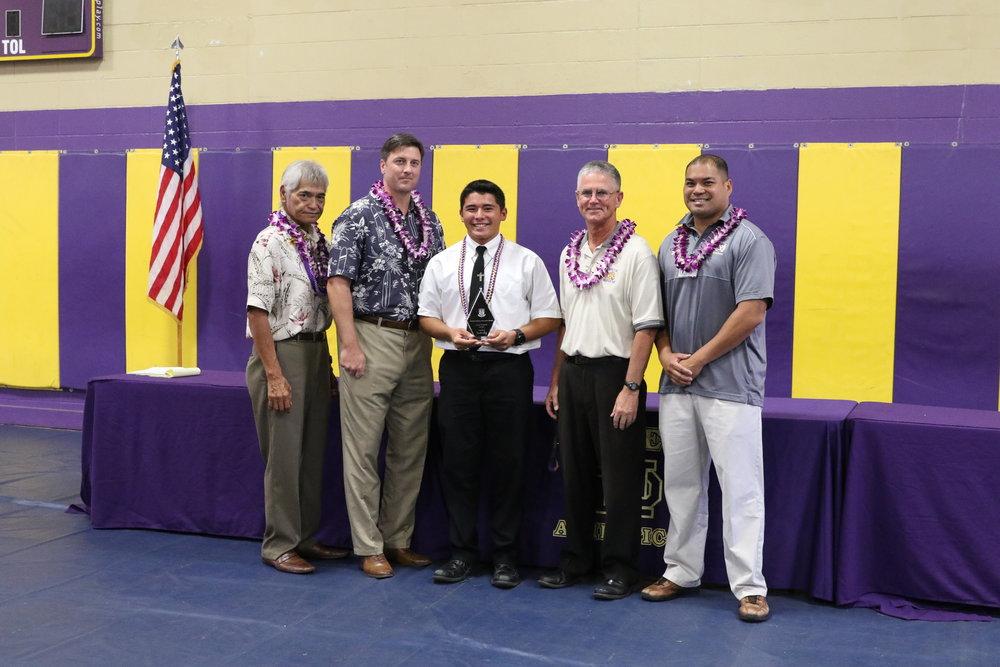 Father Damien Monarch Award