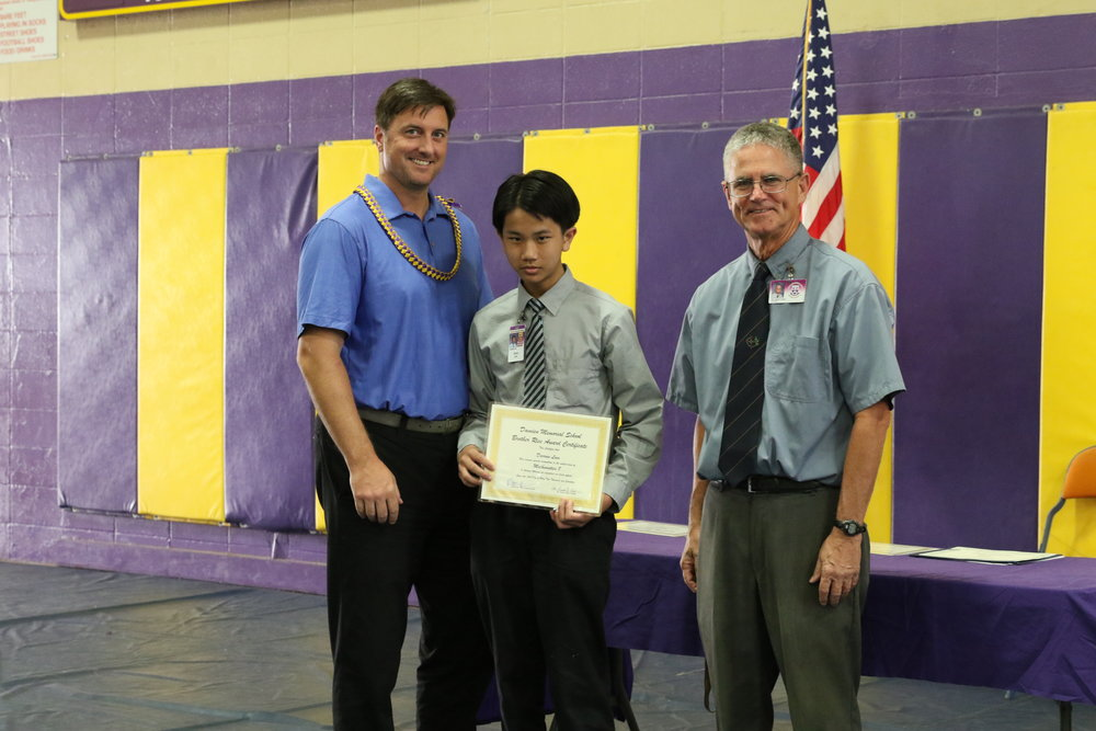 Mathematics 8 Award