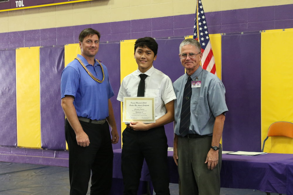 Mathematics 10 Award