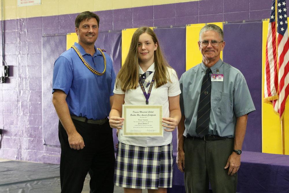 Social Studies 7 Award