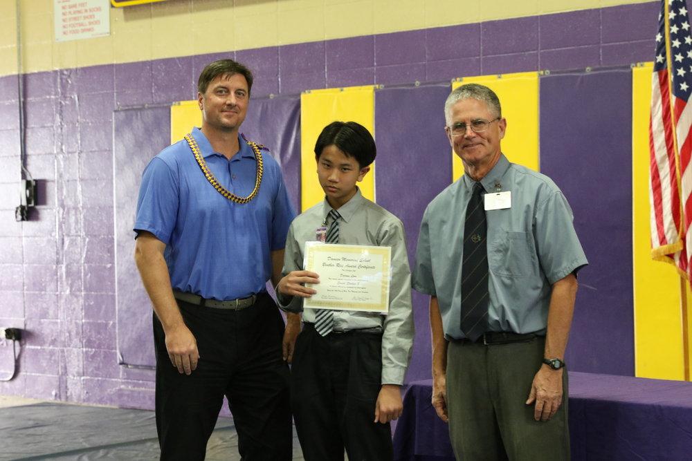 Social Studies 8 Award