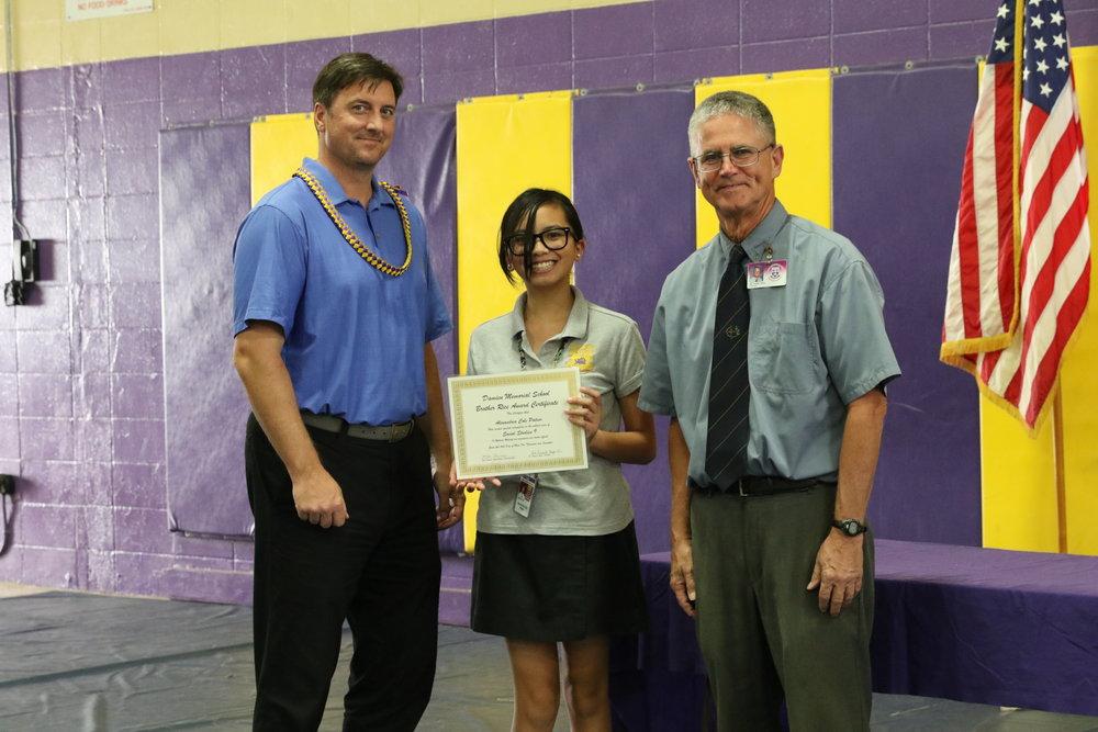 Social Studies 9 Award