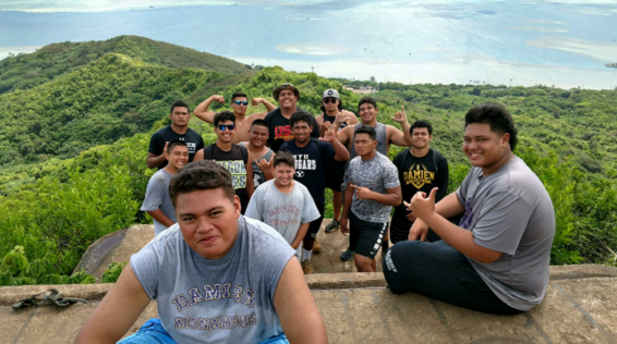 Team Bonding for the BIG BOYS in the TRENCHES!!! -
