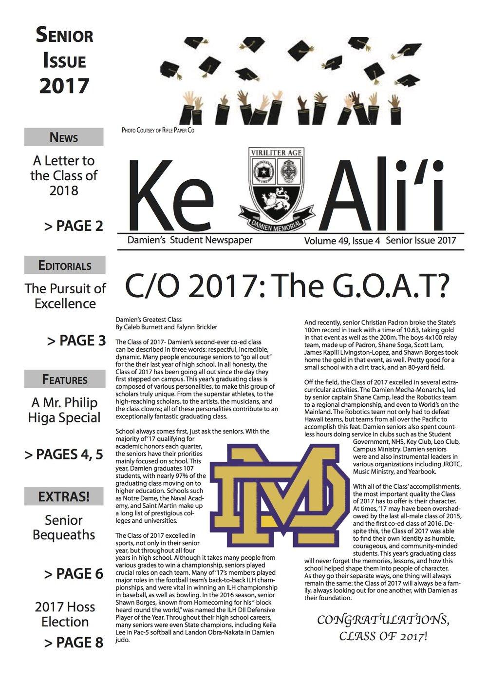 Q4:  KE ALII 1617