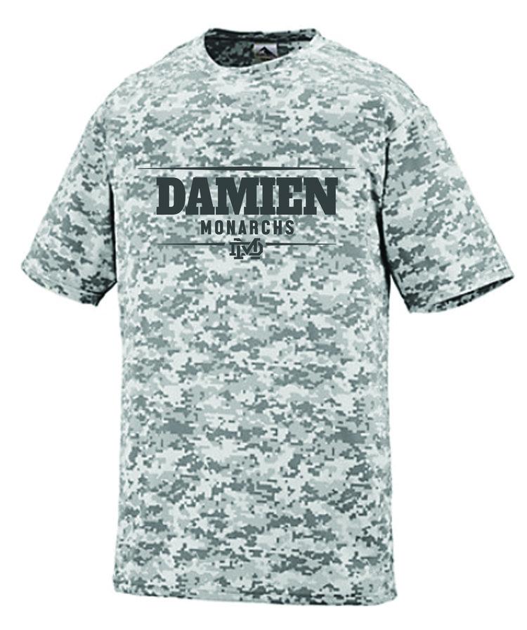 Men s White Camo Dri-Fit Shirt — Damien Memorial School ebc537a452b