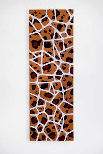 "Wild Pattern / 10"" x 30"" Acrylic on canvas / Year of 2012"