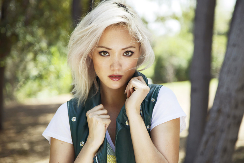 Beautiful Canadian-born French actress Pom Klementieff