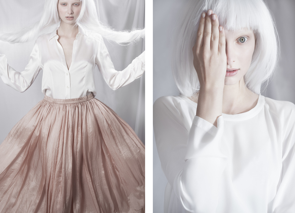 Left - Top: Her Shirt / Skirt: Mes Demoiselles                                                                                                              Right - Top: Model's Own