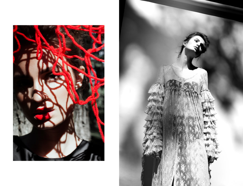 Dress : Juergen Christian Hoerl Atelier /  Lingerie : Daniela Paradeis