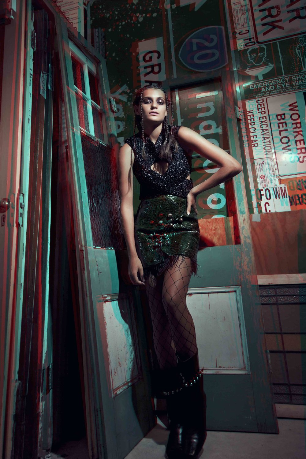 Top & Skirt: Isabella Jacuzzi / Boots: Zephyr Collection by Bronte Armstrong