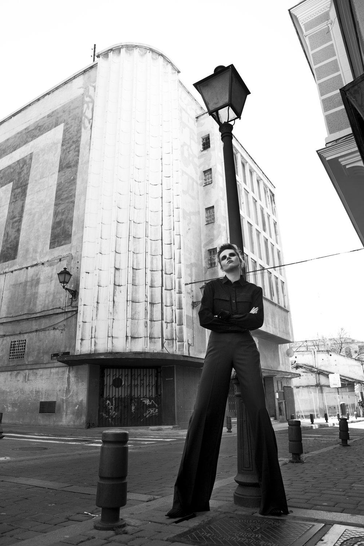 Shirt COS / Pants JUAN CARLOS PAJARES
