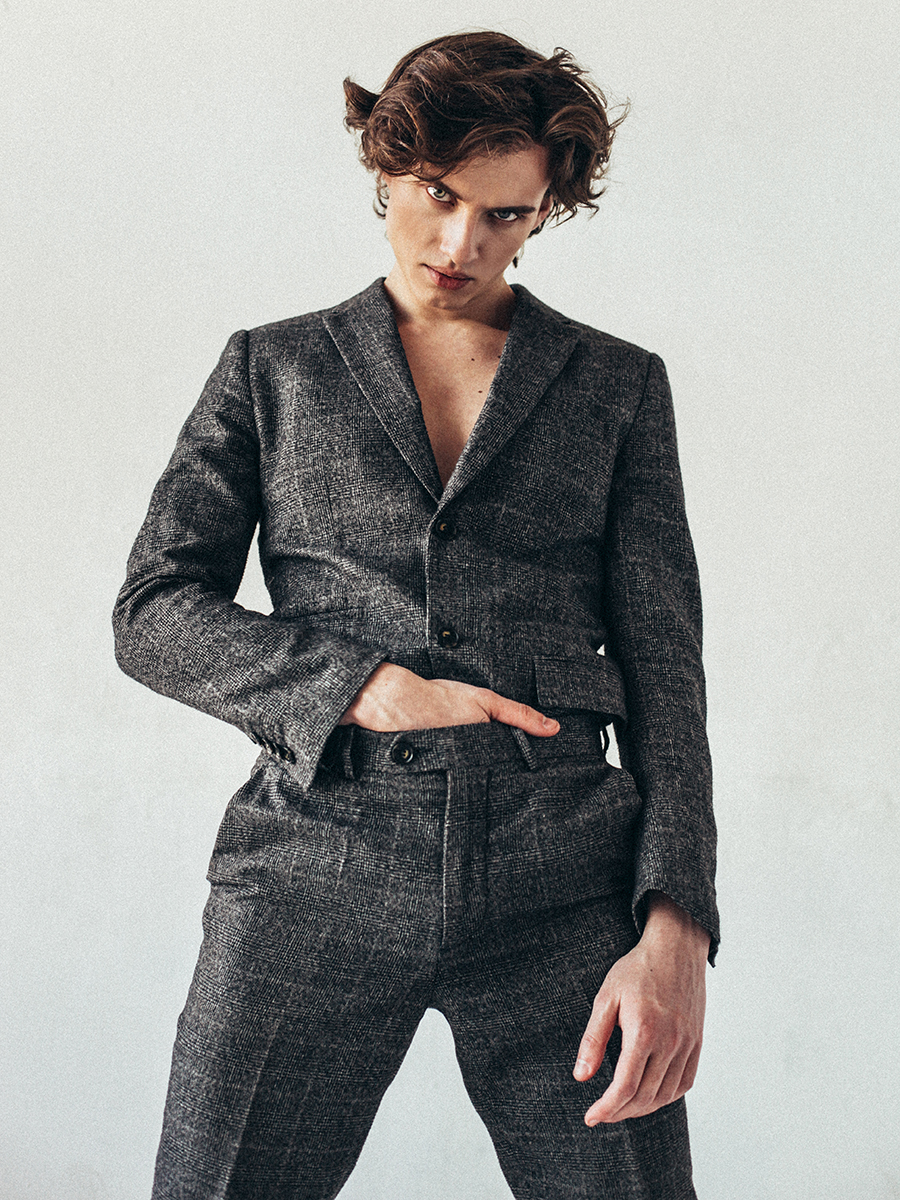 Suit: Gucci