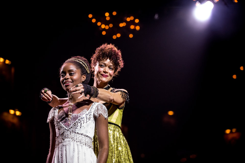 Denée Benton and Amber Gray