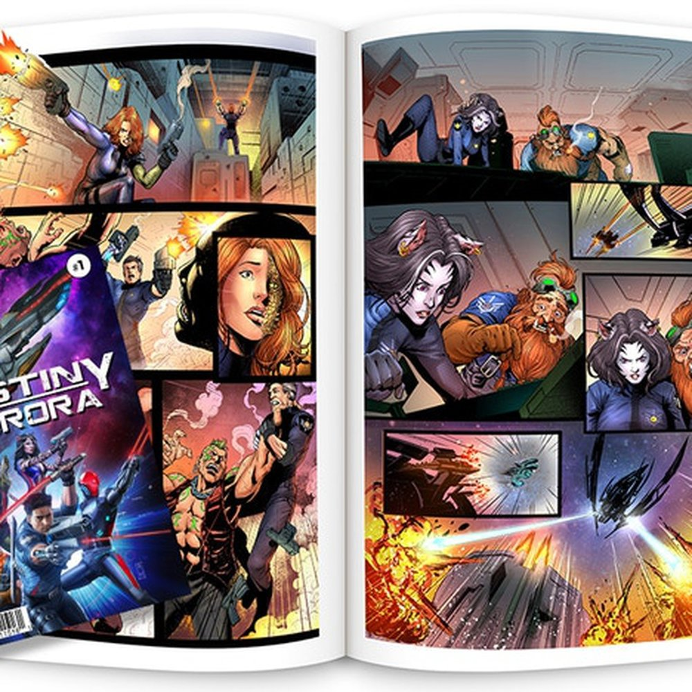 Destiny Aurora Comic - Issue #1