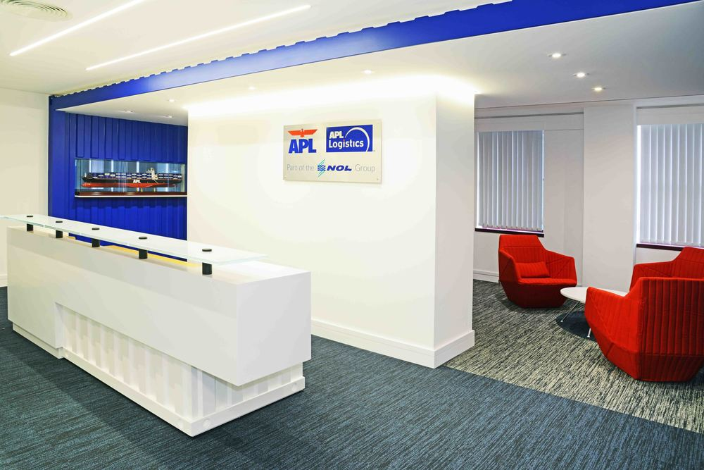 APL Shipping & Logistics  16,800 Sq ft – 8 Weeks
