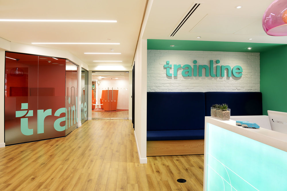 Trainline  40,000 Sq ft – 22 Weeks