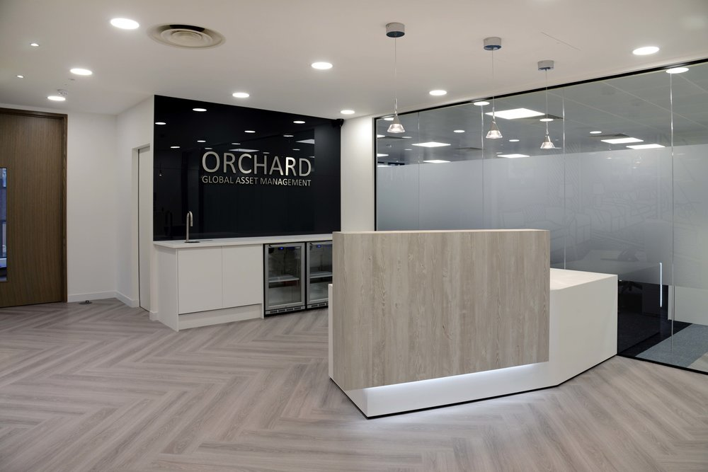 Orchard Global Asset Management  5,400 Sq ft – 5 Weeks