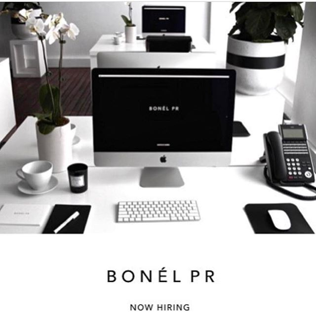 BONÉL PR is looking for a Senior Account Manager to join our fashion and lifestyle team. Please email your Interest to hayley@bonelpr.com.au #bonelpr