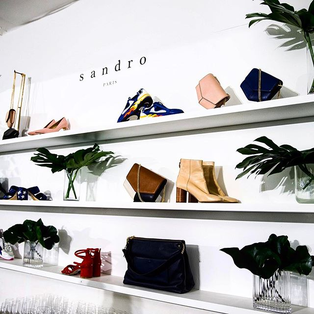 A flashback to the @sandroparis accessories collection launch last night @laporte_space #sandroparis #bonelpr