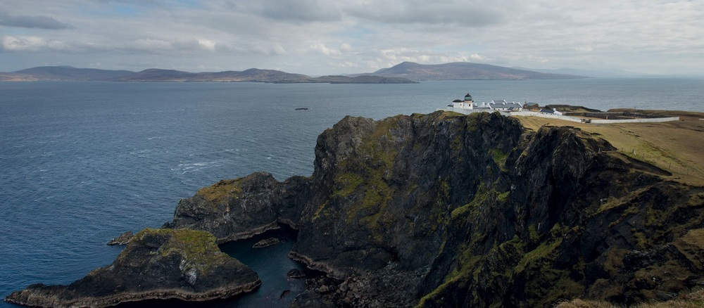 Clare Island Lighthouse, Clew Bay, Co. Mayo, Ireland. (See listing below).