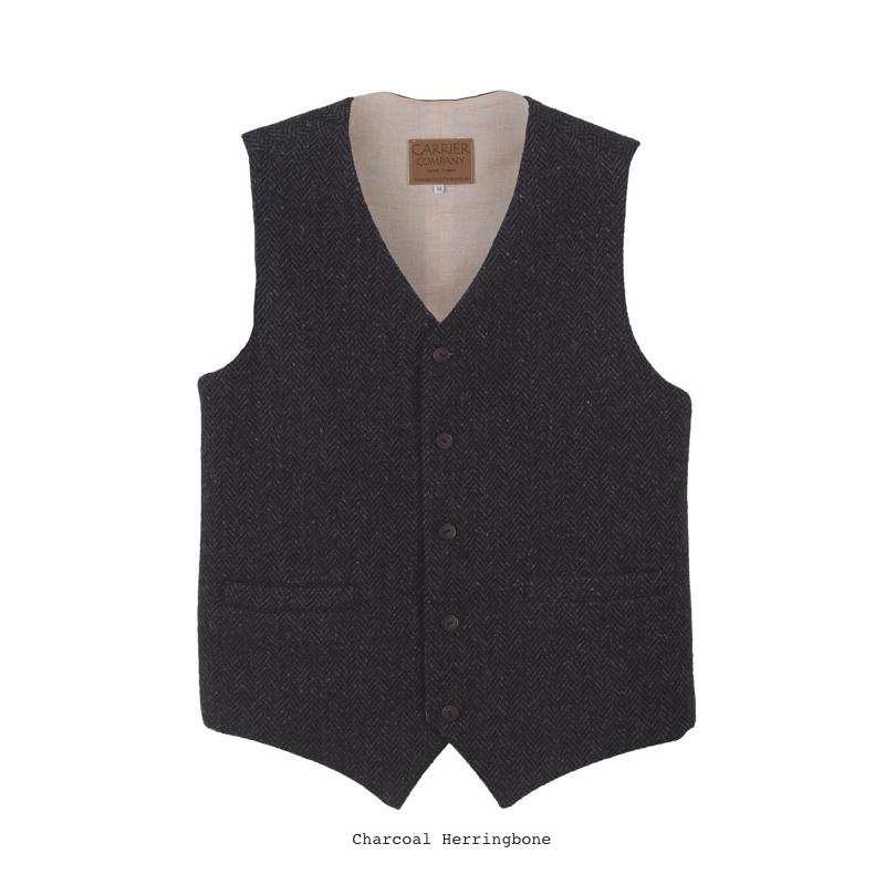 Handmade Irish Wool Waistcoat £146