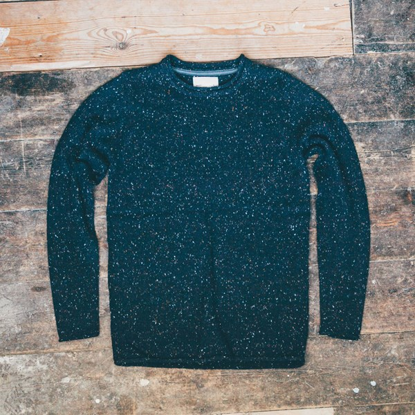 RVLT Speckled Knit Navy £60.00