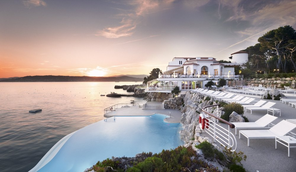 Hotel Eden-Roc. Cap D'Antibes (France)