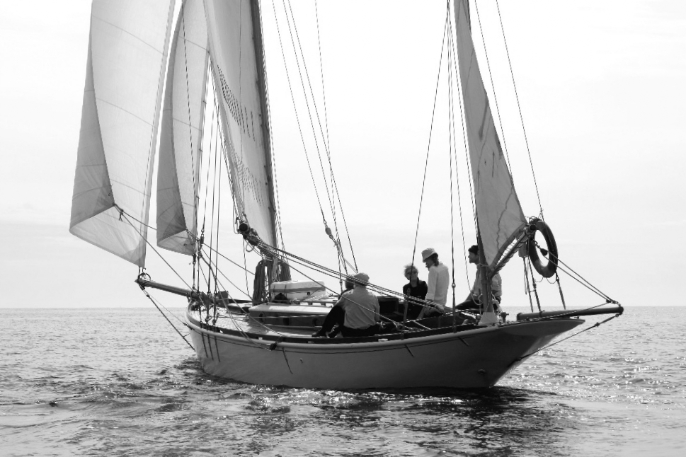 James Boyd's yacht CONCORD
