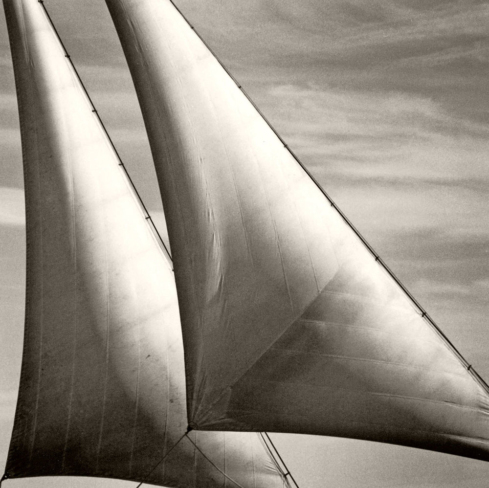 'Twin Headsails', 1998. Michael Kahn