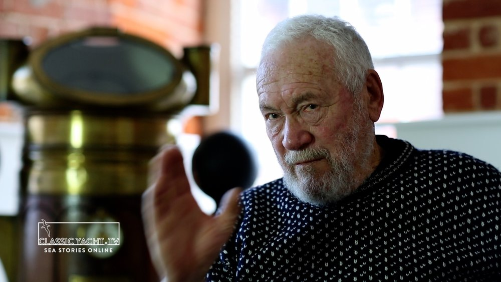 Don't lets get too euphoric – Sir Robin on what's after rounding Cape Horn in 1968
