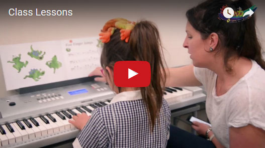 Next Video: - Group Lessons - how music classes in a group environment benefit children. Forte teachers share their observations on how students thrive both in and away from the classroom.