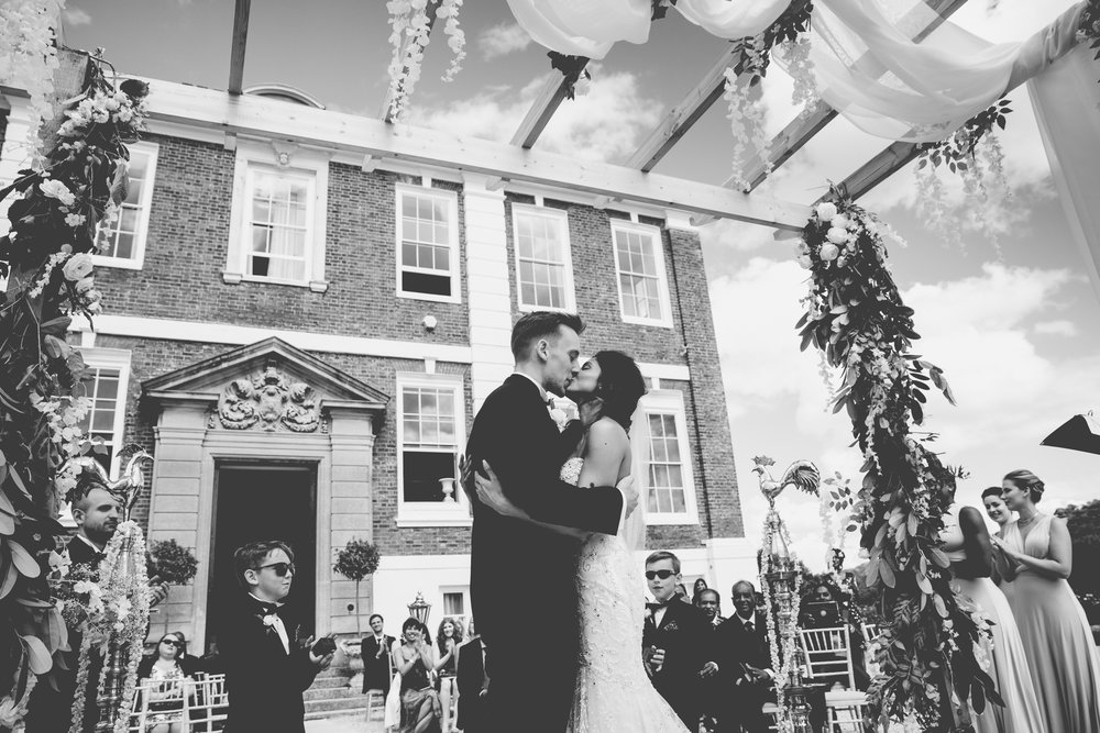 Amy Sampson | Creative Documentary Wedding Photographer | Ishani and Iain's Devon Wedding at Pyne's House, Exeter, Devon