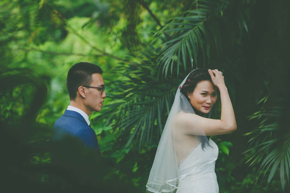 Shermien & Kai's - Beautiful destination wedding in Singapore