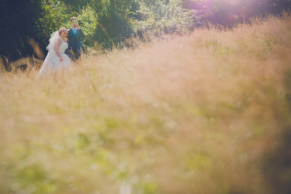 Laura & James - Cornish wedding at The Green, Cornwall