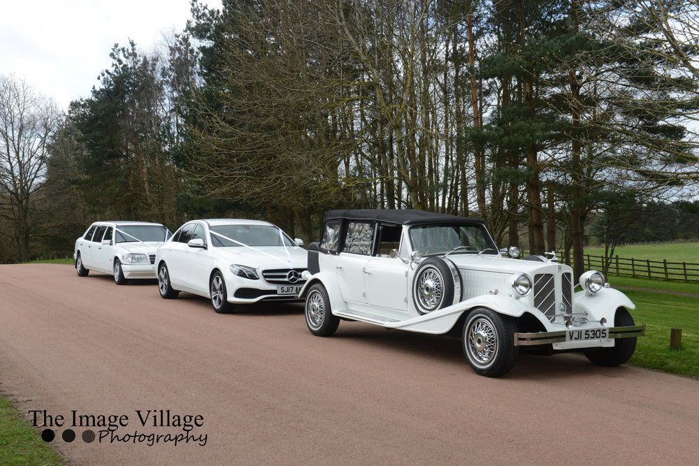 Beauford, Car & Limo - Your Choice of Beauford Plus Our Mercedes E-Class and Mercedes Limo from only £795