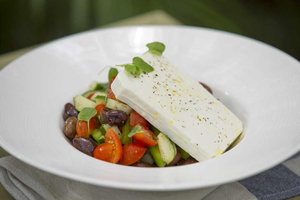 Tin Hill Social Greek Salad