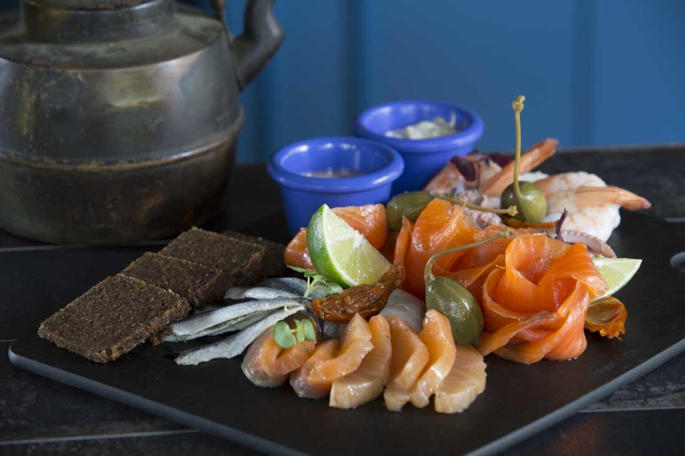 Tin Hill Social Seafood Platter for 2 or 4 to share