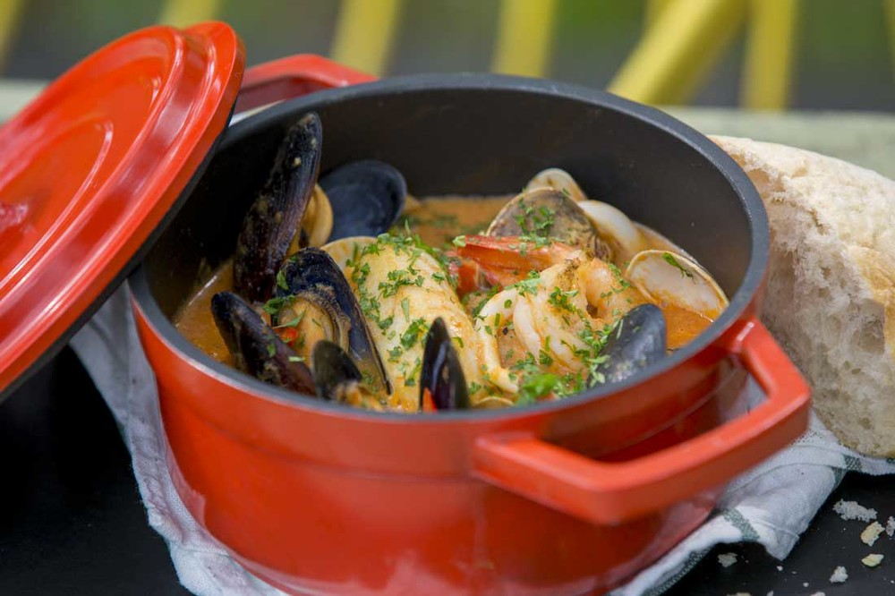 Tin Hill Social Seafood Stew