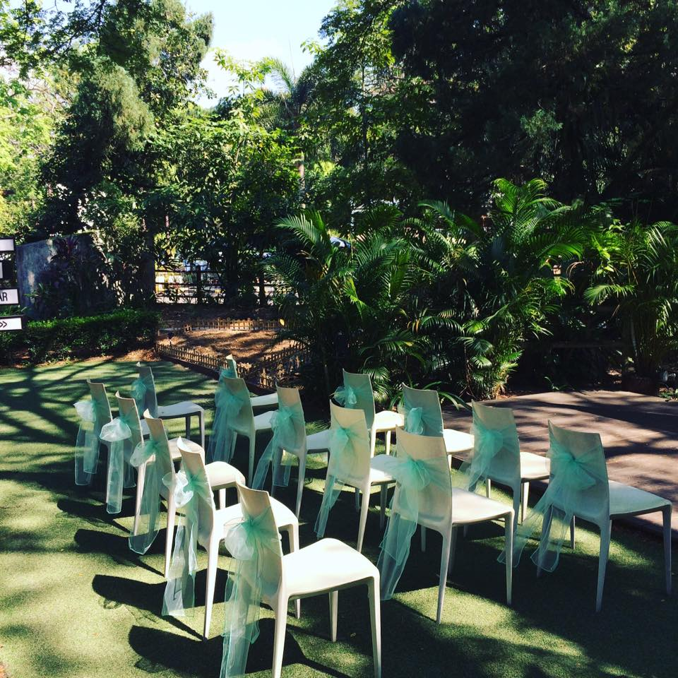 Solemnisation In The Garden (partial seating)
