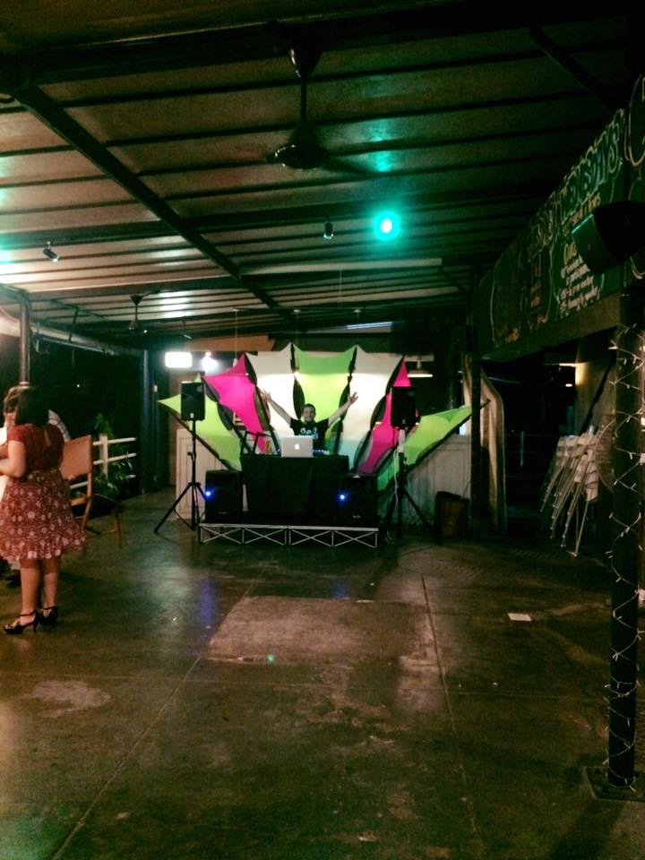 DJ & Dance Floor On The Verandah
