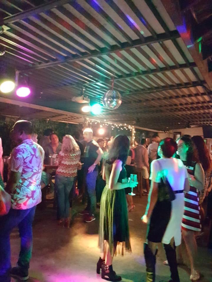 Dance Floor on The Verandah