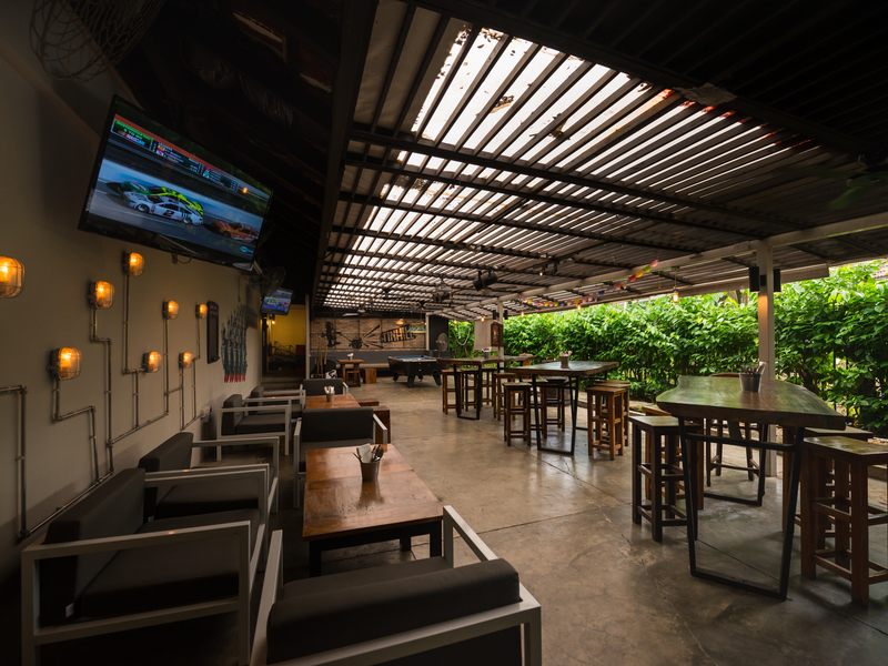 "The Tin Hill Social Courtyard ""The Sports Bar"""