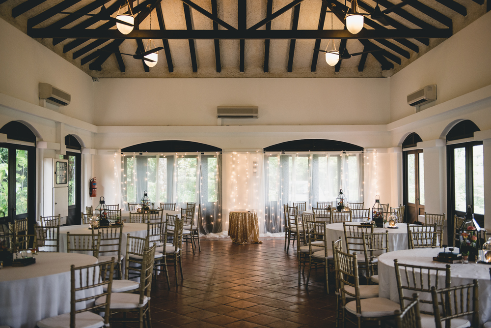 Wedding at Raffles House