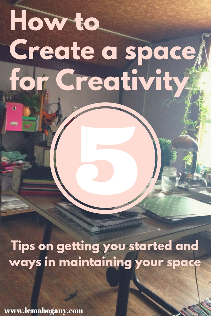 How to Create a Creative Space