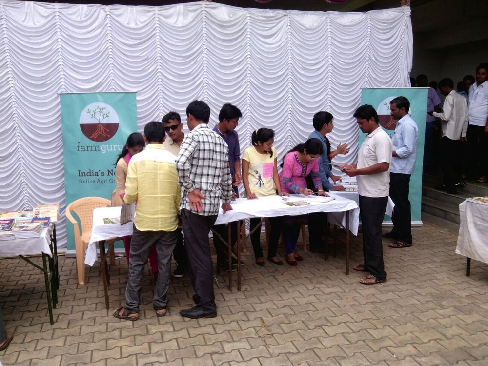 Ongoing Registrations by visiting farmers at our stall.