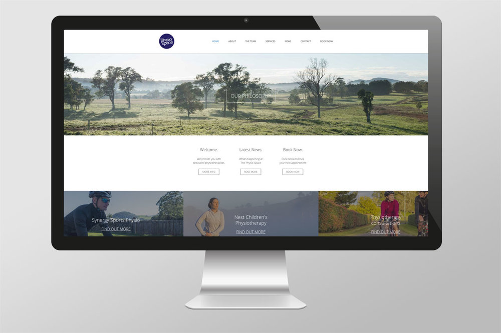 The Physio Space , Bowral NSW New business branding –  See more
