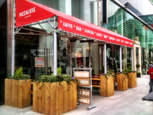 Pizza Luxe, Westfield Stratford, London