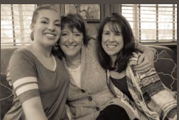 McGee, Lizzy and her mother Terri Naguib.